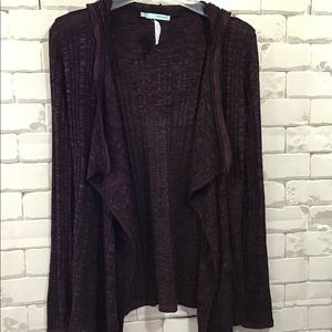 NWT Maurices Hooded Cardigan Sz. S